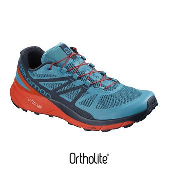 Zapatillas trail hombre SENSE RIDE blue/cherry to/na