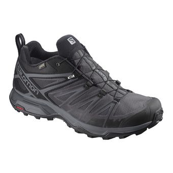 Salomon X ULTRA 3 GTX - Hiking Shoes - Men's - bk/magnet/quiet sha