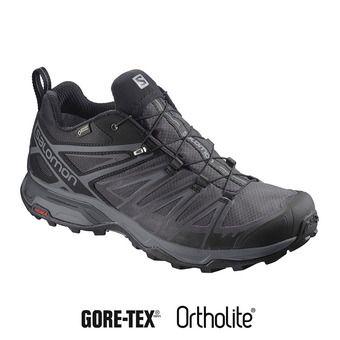 Salomon X ULTRA 3 GTX - Zapatillas de senderismo hombre bk/magnet/quiet sha