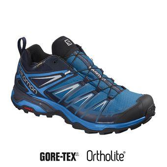 Salomon X ULTRA 3 GTX - Chaussures randonnée Homme mykonos/indigo bunting/pearl blue