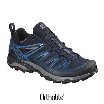 Salomon X ULTRA 3 - Chaussures randonnée Homme poseidon/indigo bun/quie