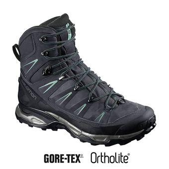 Salomon X ULTRA TREK GTX - Chaussures randonnée Femme gy/bk/beach gl
