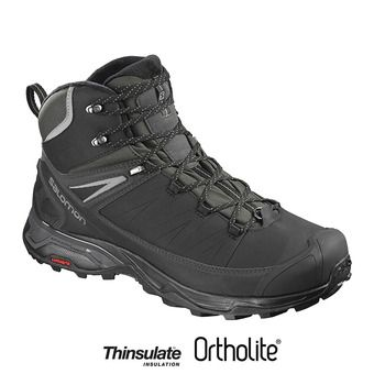 Zapatillas de senderismo hombre X ULTRA MID WINTER CS WP bk/phant