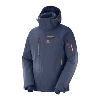Salomon BRILLIANT - Chaqueta de esquí hombre night sky