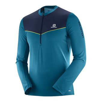 Salomon FAST WING - Maillot Homme deep lago