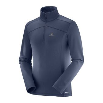 Sous-couche ML 1/2 zip homme DISCOVERY LT HZ night sky