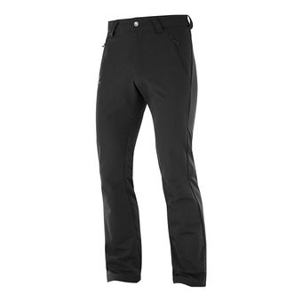 Salomon WAYFARER WARM - Pants - Men's - black