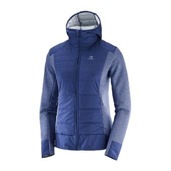 Salomon RIGHT NICE - Hybrid Jacket - Women's - medieval blue