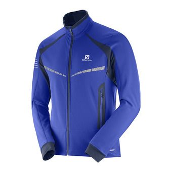 Chaqueta de esquí nórdico SoftShell hombre RS WARM SOFTSHELL surf the w/night