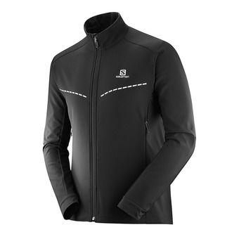 Chaqueta de esquí nórdico SoftShell hombre AGILE SOFTSHELL black