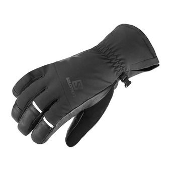 Salomon PROPELLER DRY - Gloves - Men's - black/black