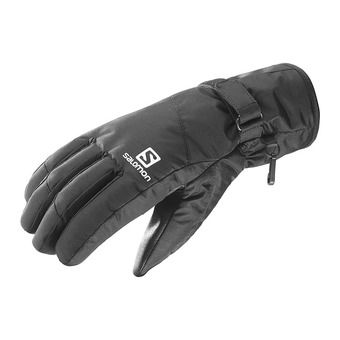 Salomon FORCE DRY - Gloves - Men's - black