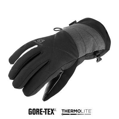 fa77b0f5f74 Gants de ski femme ICON GTX® black white - Private Sport Shop