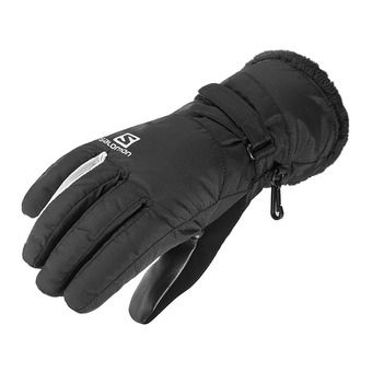 Salomon FORCE DRY - Guantes mujer black/wht