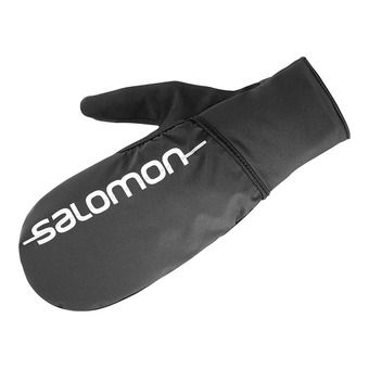 Salomon FAST WING WINTER - Guantes 2 en 1 black