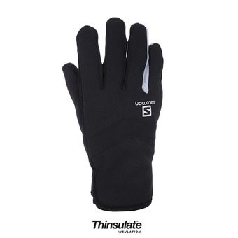 Guantes RS WARM black/white
