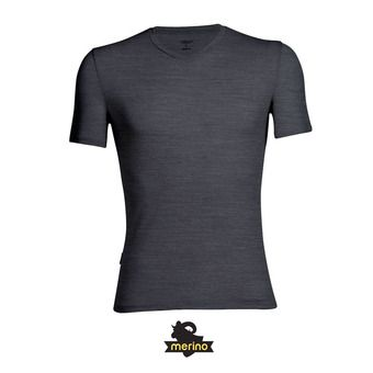 Icebreaker ANATOMICA - Camiseta hombre jet hthr/black