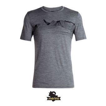 Tee-shirt MC homme TECH LITE gritstone hthr