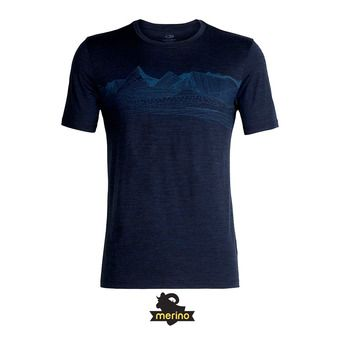 Tee-shirt MC homme TECH LITE dk night hthr