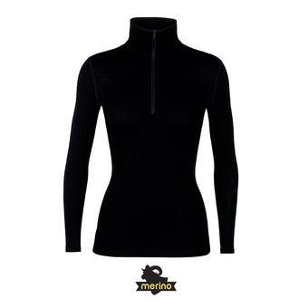 260 Tech LS Half Zip Femme Black