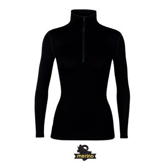 Camiseta térmica mujer TECH black