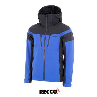 Veste de ski Recco® homme LANZO island blue