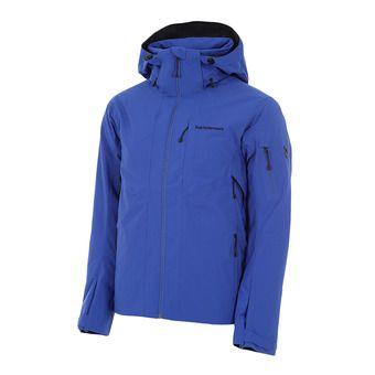 Chaqueta de esquí hombre MAROON island blue