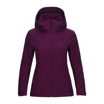 Veste de ski femme ANIMA blood cherry