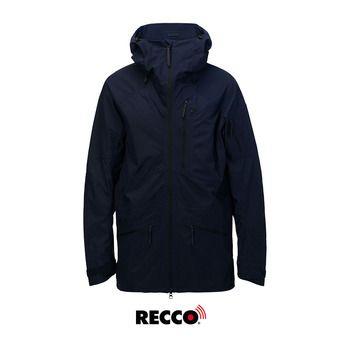 Chaqueta de esquí Recco® hombre RADICAL salute blue