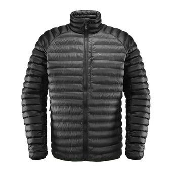 Haglofs ESSENS MIMIC - Doudoune Homme magnetite/true black