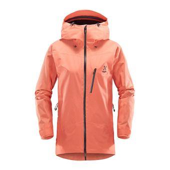 Veste à capuche femme NIVA coral pink