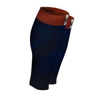 Manchons de compression MERCURY dark blue/red