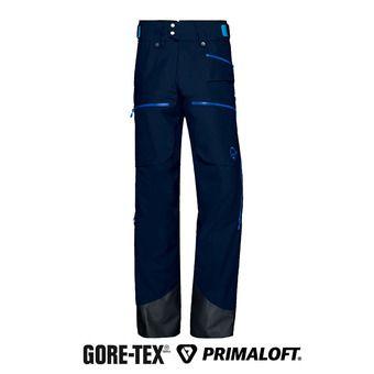 Norrona LOFOTEN INSULATED GTX - Pantalon ski Homme indigo night