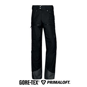 Norrona LOFOTEN INSULATED GTX - Pantalon ski Homme caviar