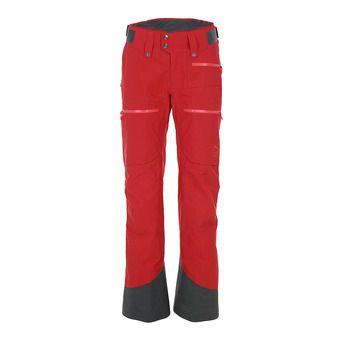 Norrona LOFOTEN INSULATED GTX - Pantalón de esquí mujer jester red
