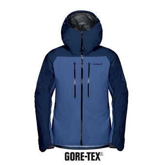 Veste à capuche Gore-Tex® homme LYNGEN indigo night