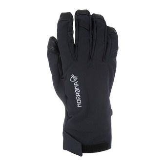 Gloves - FALKETIND DRI SHORT caviar