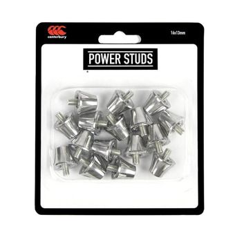 Boîte de 16 crampons vissés 13mm POWER training silver