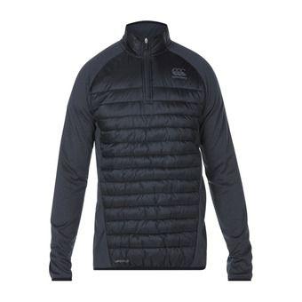 Canterbury VAPOSHIELD HYBRID - Sweat Homme vanta black marl/jet black