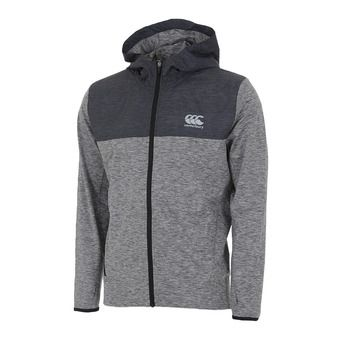 Sweat zippé à capuche homme VAPODRI L WEIGHT TRAINING static marl