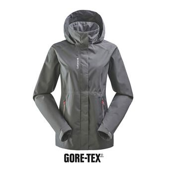 Veste à capuche femme WAY GTX ZIP-IN carbone grey