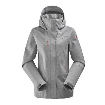 Lafuma TRACK ZIP-IN - Chaqueta mujer heather grey