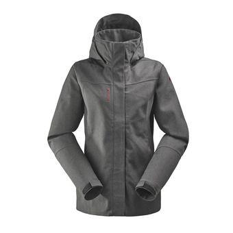 Veste à capuche femme TRACK ZIP-IN black