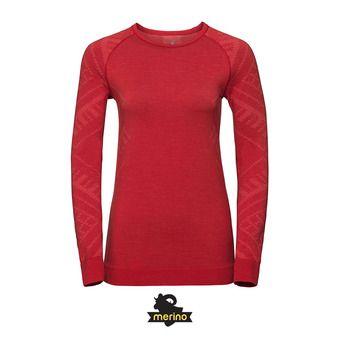 Camiseta térmica mujer NATURAL + KINSHIP WARM baked apple melange