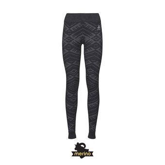 Odlo NATURAL KINSHIP - Collant Femme black melange