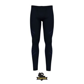 Odlo NATURAL WARM - Collant Homme diving navy melange