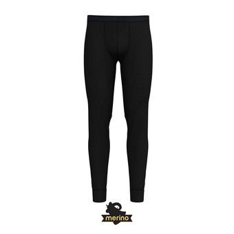 Odlo NATURAL MERINO WARM - Collant Homme black