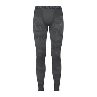 Odlo PERFORMANCE BLACKCOMB - Tights - Men's - black/concrete grey/silver