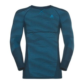 Odlo PERFORMANCE BLACKCOMB - Sous-couche Homme poseidon/blue jewel/atomic blue