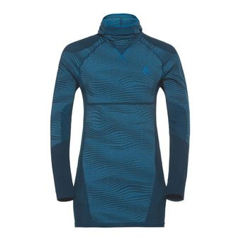 Odlo PERFORMANCE BLACKCOMB - Sous-couche Homme poseidon/blue jewel/atomic blue